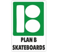 Наклейка plan b skateboards