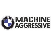 Наклейка Machine aggressive