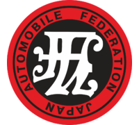 Наклейка Japan automobile federation