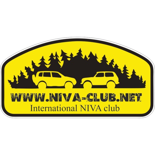 Наклейка International NIVA club