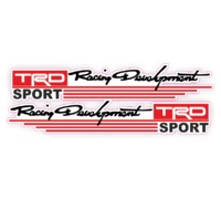 Наклейка Racing Development TRD SPORT
